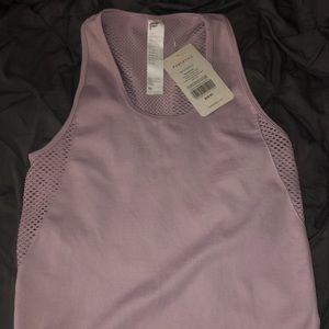 Fabletics pink workout shirt